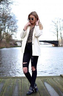 NWT_ZARA oversized structured three-quarter length jacket coat_size M Three Quarter Length Jacket