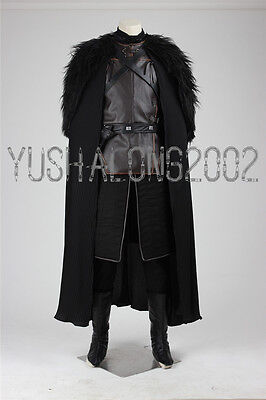 A Song of Ice and Fire Game of Thrones Cosplay Kostüm Halloween Costume Jon Snow
