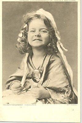 Grandmamma's Darling - photographic postcard