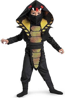 Cobra Ninja Warrior Martial Arts Fancy Dress Up Halloween Toddler Child Costume](Halloween Art Toddlers)