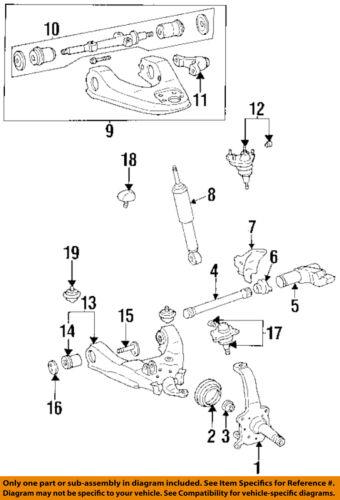 Toyota 4runner Front Suspension Diagram