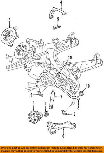 ford oem 2004 f-150 heritage stabilizer sway bar-front-link 4l3z5k483ba