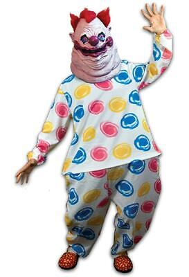 Fatso Killer Klowns From Outer Space Clown Halloween Costume Mens Adult - Killer Clowns From Outer Space Costume