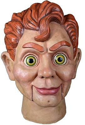 Slappy the Dummy Mask Goosebumps Fancy Dress Halloween Adult Costume Accessory