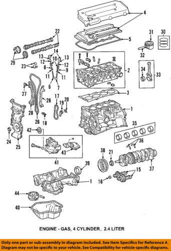Toyota OEM 02-05 Camry-Motor Culata 111010H010 | eBayeBay