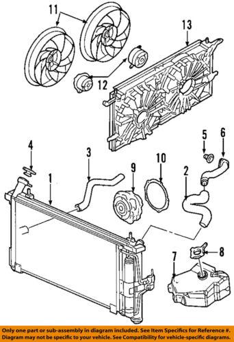 buick rendezvous parts diagram radiator fan wiring diagram online Buick Rendezvous Belt buick gm oem 04 05 rendezvous radiator cooling fan motor 88958077 ebay 2006 buick rendezvous problems complaints buick rendezvous parts diagram radiator fan