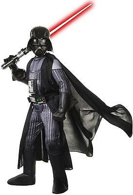 Darth Vader Star Wars Sith Lord Fancy Dress Halloween Super Deluxe Child Costume](Sith Lord Halloween Costume)