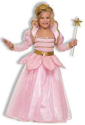 Little Pink Princess Renaissance Designer Fancy Dress Up Halloween Child Costume
