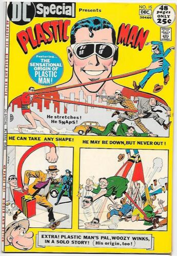 DC Special #15, DC 1971 Plastic Man by Jack Cole VF+