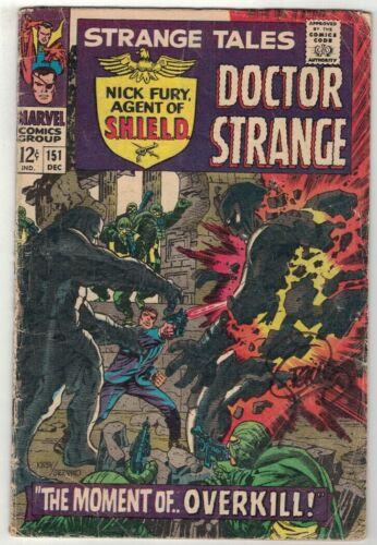 STRANGE TALES #151 SIGNED BY COVER ARTIST JIM STERANKO - MARVEL COMICS/1966