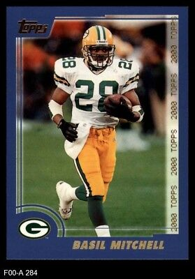 2000 Topps #284 Basil Mitchell Packers NM/MT ()