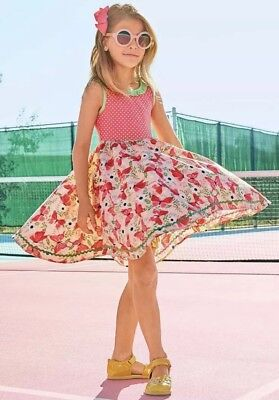 Go Girl Dresses (Matilda Jane Wish you were here camp MJC Good to Go Dress Girls size 4)