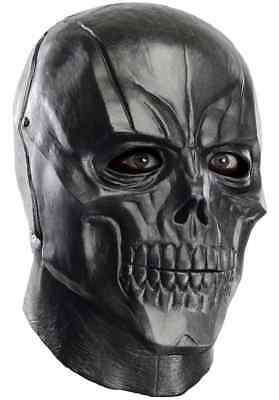 Black Mask Batman Arkham Origins Villain Fancy Dress Halloween Costume Accessory](Halloween Mask Origin)