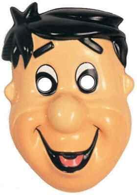 Fred Flintstone PVC Mask Flintstones Fancy Dress Up Halloween Costume Accessory