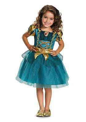 Merida Toddler Classic Disney Princess Brave Fancy Dress Halloween Child - Brave Toddler Costume