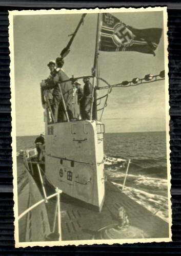 WWII KRIEGSMARINE U-BOAT SUBMARINE GERMANY REICH PHOTO from PRIVATE COLLECTION