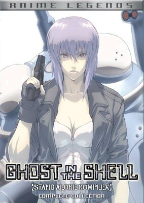Ghost In The Shell  Stand Alone Complex Complete Collection New Dvd  Ships Fast