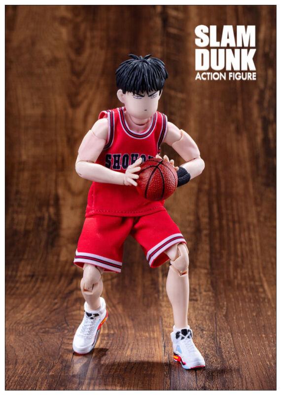 Dasheng Slam Dunk 1//10 Model AKIRA SENDOH White blue jersey Action Figure Toy