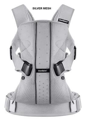Baby Bjorn Carrier ONE Baby Carrier in Silver Mesh, Brand New!! comprar usado  Enviando para Brazil