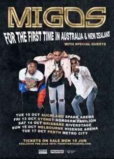 Migos Sydney tickets