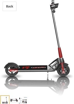 """Powerocks S1 Electric Scooter on 8"""" air wheels"""