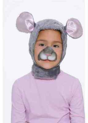 Mouse Disguise Kit Animal Mask Nose Dress Up Halloween Child Costume Accessory Disguise Kit