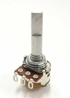 Philmore Pc865 100k Ohm Audio Potentiometer Wswitch 16mm Body With 14 D Shaft