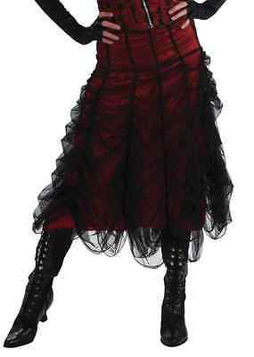 Vampire Dress Up (Coffin Couture Skirt Gothic Vampire Fancy Dress Up Halloween Costume)