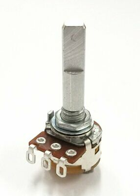 Philmore Pc725 1k Ohm Linear Taper Potentiometer Wswitch 16mm Body 14 D Shaft