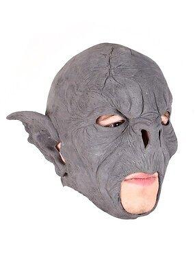 Epic Armoury LARP Wilder Ork-Maske Unbem. Fasching Halloween Monster Gummimaske