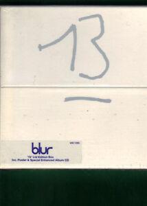 BLUR-13-LIMITED-EDITION-CD-POSTER-BOX-NUOVO-SIGILLATO