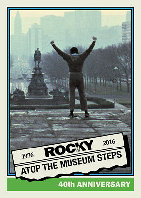 1976 Rocky 40th Anniversary Set - 2016 National Exclusive TEN Card Set