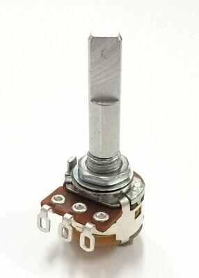 Philmore Pc845 10k Ohm Audio Taper Potentiometer Wswitch 16mm Body 14 D Shaft