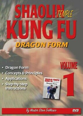 Shaolin Kung Fu #1 DVD Steve DeMasco Dragon Form Concepts principles application