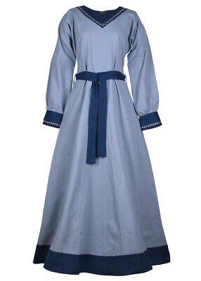 laugrau/blau Mittelalterkleid historisches Kleid  (Historische Kleid)