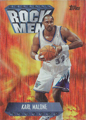 1998-99 Topps Season's Best #SB16 Karl Malone Rock Men Utah