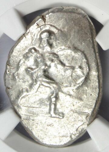Pamphylia Aspendus AR Stater Coin 400 BC - Certified NGC Choice VF - Rare!