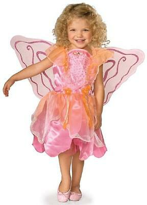 Pink Pixie Fairy Princess Fantasy Fancy Dress Up Halloween Toddler Child Costume (Pixie Fairy Halloween Costumes)