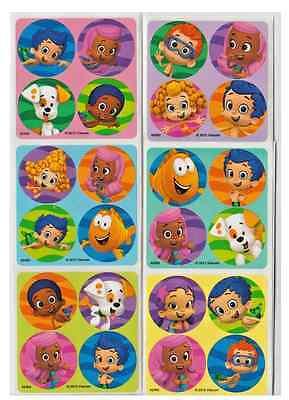 80 Bubble Guppies Mini Stickers, 1.2