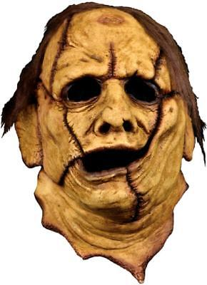 Leatherface 3/4 Skinner Mask Texas Chainsaw Massacre Halloween Costume Accessory
