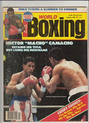 Verzamelkaarten: sport 2011 Ringside Boxing 2 Trunks Silver Version/78 AM-31 #Z587 Hector Camacho Jr