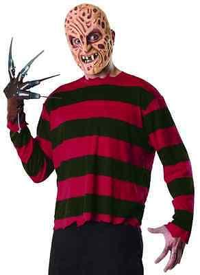 Freddy Krueger Nightmare Elm Street Fancy Dress Halloween Adult Costume w/Mask - Halloween Costumes Freddy Krueger