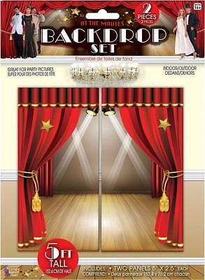 At the Movies Hollywood Oscar Award Prom Theme Party Decoration Backdrop Set