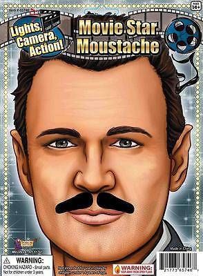 Movie Star Moustache Vintage Hollywood Fancy Dress Halloween Costume Accessory - Halloween Costume Hollywood Star