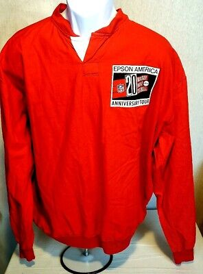 1990 VINTAGE ABC NFL 20th Anniversary MONDAY NIGHT FOOTBALL LS SHIRT Made in USA image
