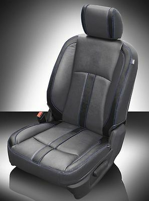 2013-2017 RAM CREW CAB 1500 2500 KATZKIN CUSTOM LEATHER SEAT REPLACEMENT COVERS
