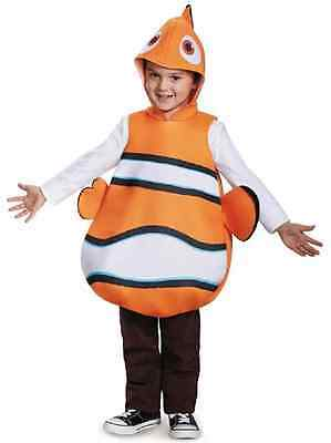 Nemo Classic Disney Finding Dory Clown Fish Fancy Dress Halloween Child Costume