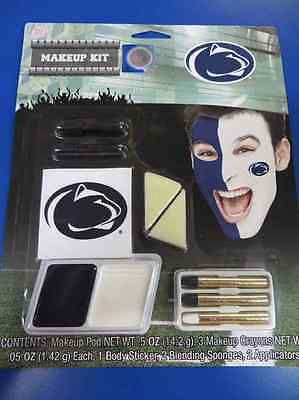 Penn State Nittany Lions Makeup NCAA Football College Game Day Costume Accessory - Nittany Lion Costume