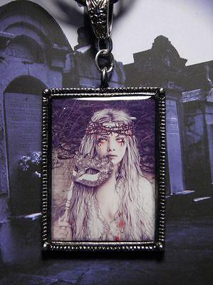 Vampire Necklace, Victoria Frances, Mardi Gras, Masquerade Vampire Necklace](Female Vampire Mask)