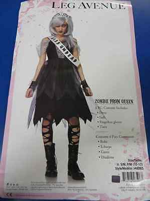 Zombie Prom Queen Gothic Dead Ghost Fancy Dress Up Halloween Teen Costume (Dead Prom Queen Costume)